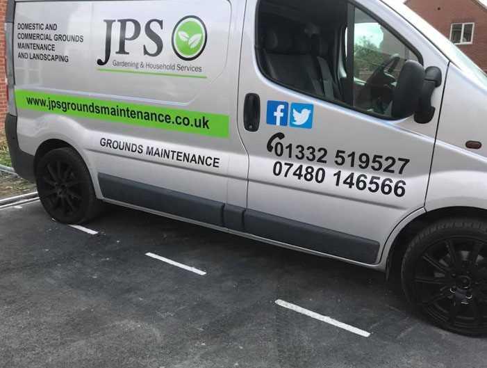 JPS Landscape Maintenance Van - Landscape Maintenance Derby