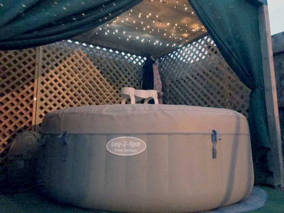 Lay-Z-Spa Hottub Enclosures and Settings Burton on Trent